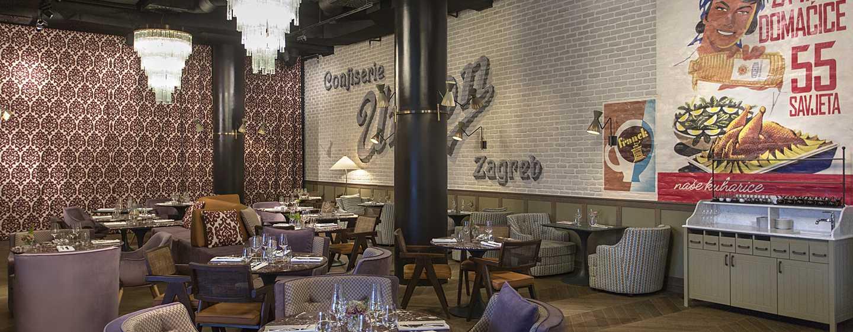 Hotel Canopy by Hilton Zagreb - City Centre, Croazia - Ristorante ReUnion