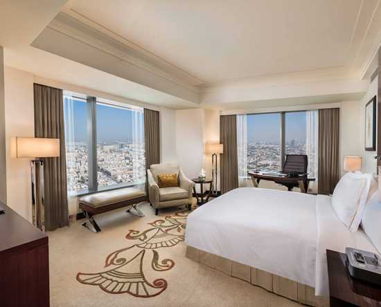 Hotel Conrad Dubai, Emirati Arabi Uniti - Camera Executive con un letto king size