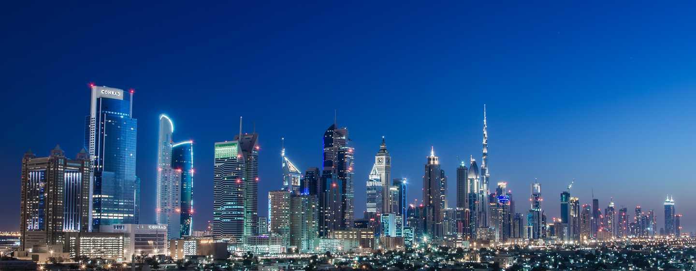 Hotel Conrad Dubai, Emirati Arabi Uniti - Vista sullo skyline