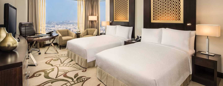 Hotel Conrad Dubai, Emirati Arabi Uniti - Camera Deluxe con due letti matrimoniali e vista mare