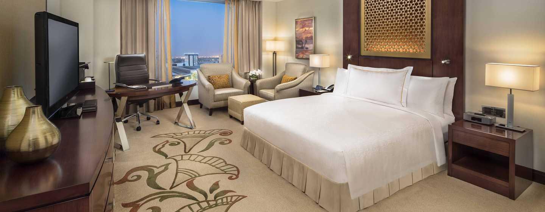 Hotel Conrad Dubai, Emirati Arabi Uniti - Camera Deluxe con un letto king size