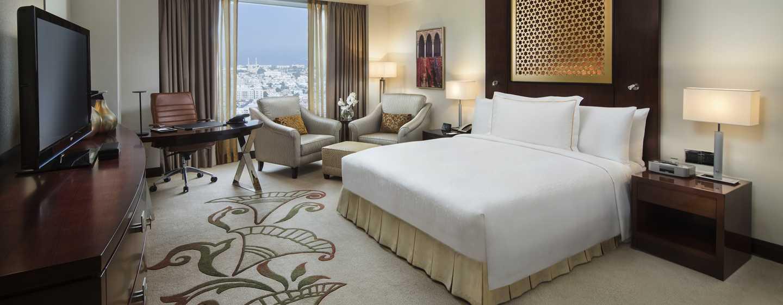 Hotel Conrad Dubai, Emirati Arabi Uniti - Camera Conrad Deluxe con letto king size e vista mare