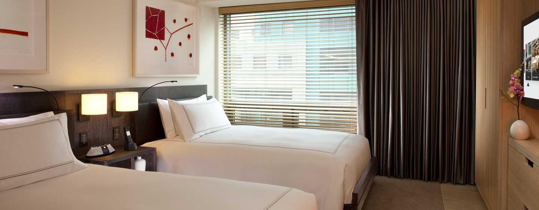 Hotel Conrad New York, Stati Uniti d'America - Suite Deluxe con due letti matrimoniali