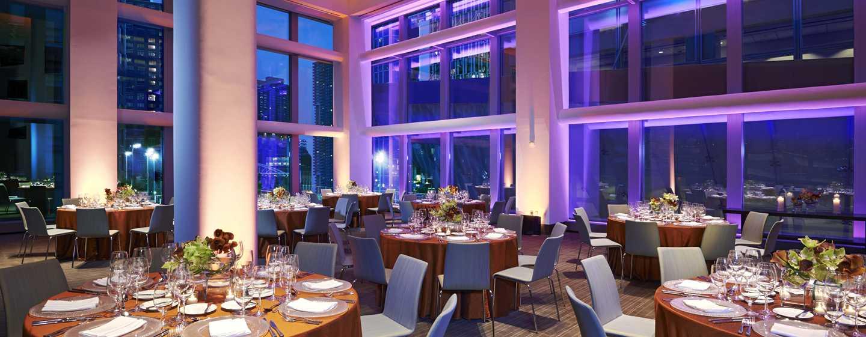 Hotel Conrad New York, Stati Uniti d'America - Ricevimento di nozze - Lato nord-est del salone Gallery