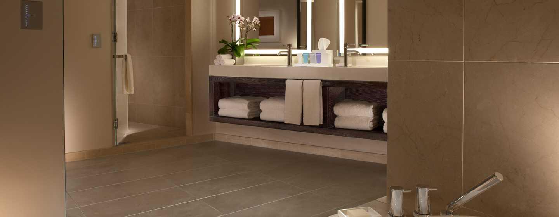 Hotel Conrad New York, Stati Uniti d'America - Bagno della Suite Luxury