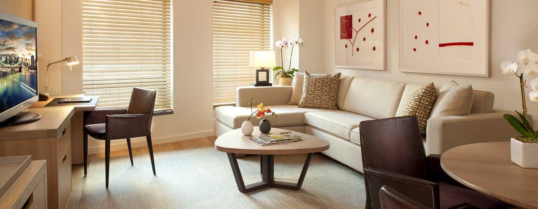 Hotel Conrad New York, Stati Uniti d'America - Soggiorno della Suite Luxury