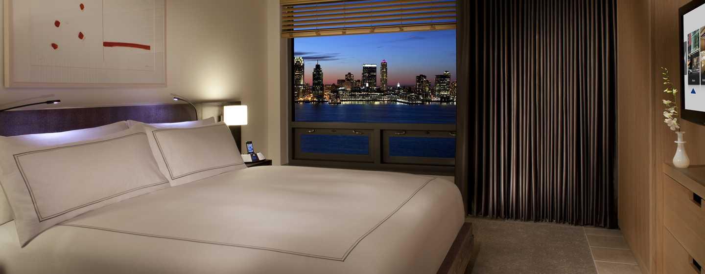 Hotel Conrad New York, Stati Uniti d'America - Suite con vista sul fiume Hudson