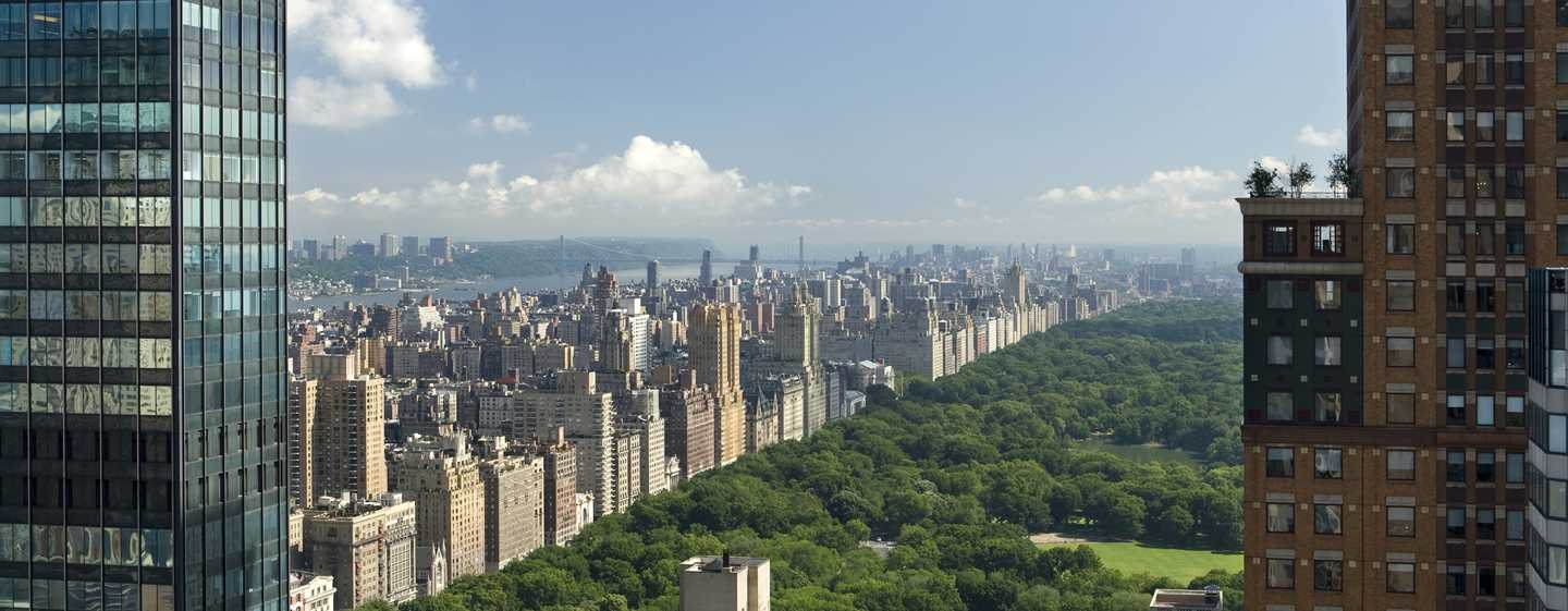 The London NYC, Stati Uniti d'America - Viste su Central Park