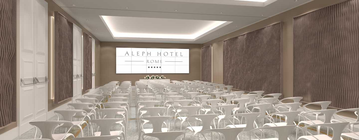 Aleph Rome Hotel, Curio Collection by Hilton, Italia - Camere - Sale meeting