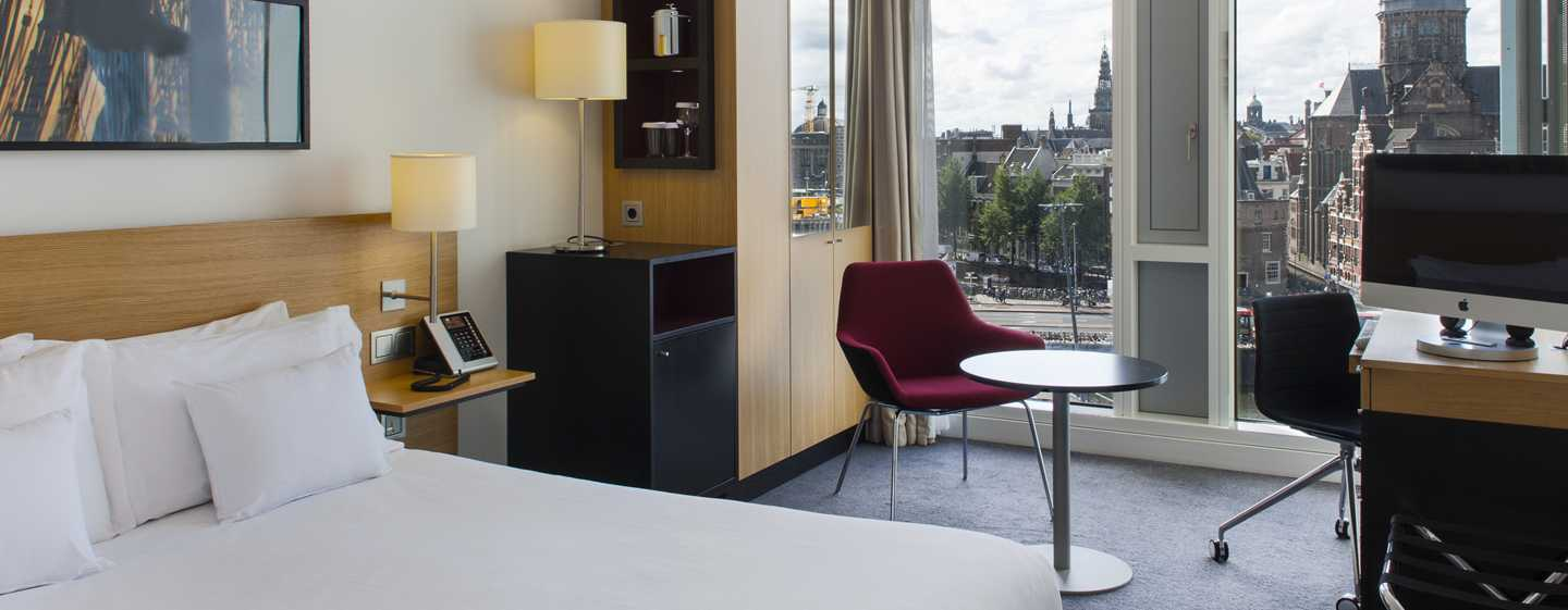 Hotel DoubleTree by Hilton Amsterdam Centraal Station, Paesi Bassi - Camera Superior con letto queen size