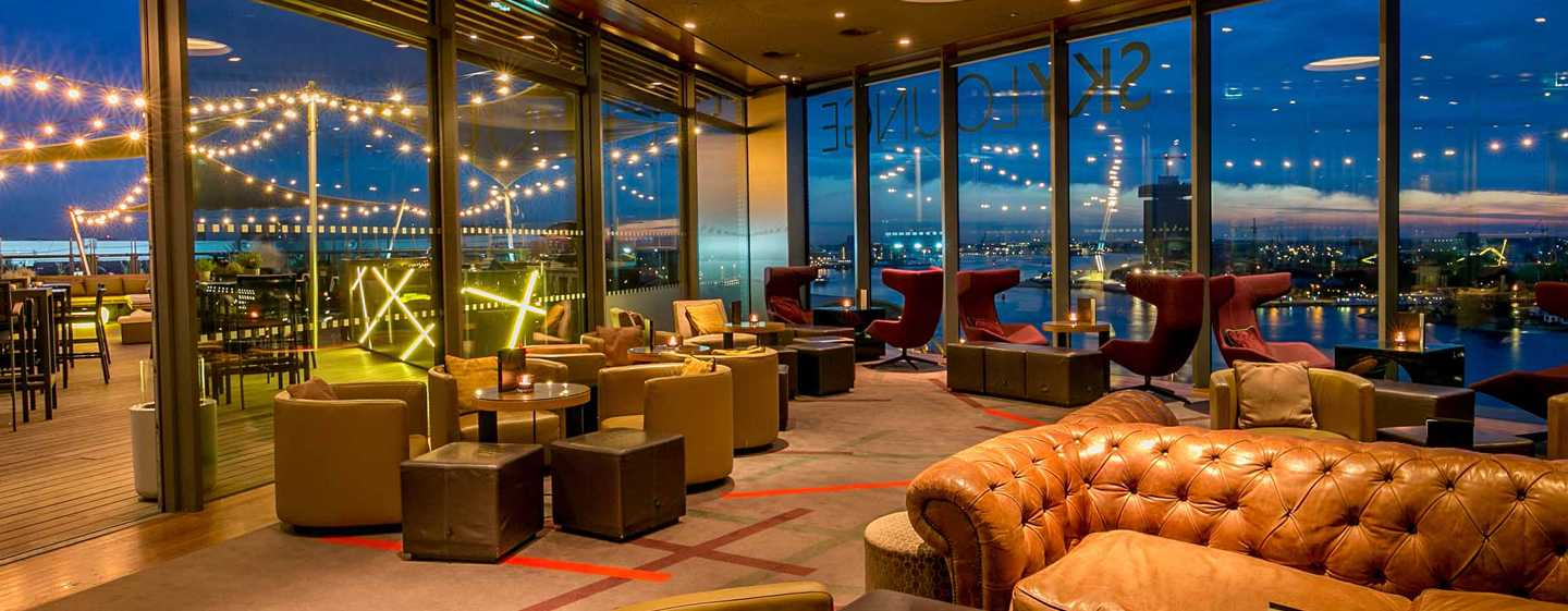 Hotel DoubleTree by Hilton Amsterdam Centraal Station, Paesi Bassi - SkyLounge Amsterdam