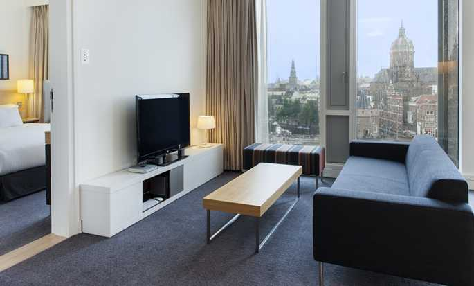 Hotel DoubleTree by Hilton Amsterdam Centraal Station, Paesi Bassi - Suite City con letto king size