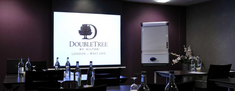 DoubleTree by Hilton Hotel London - West End, Regno Unito - Schermo della sala meeting