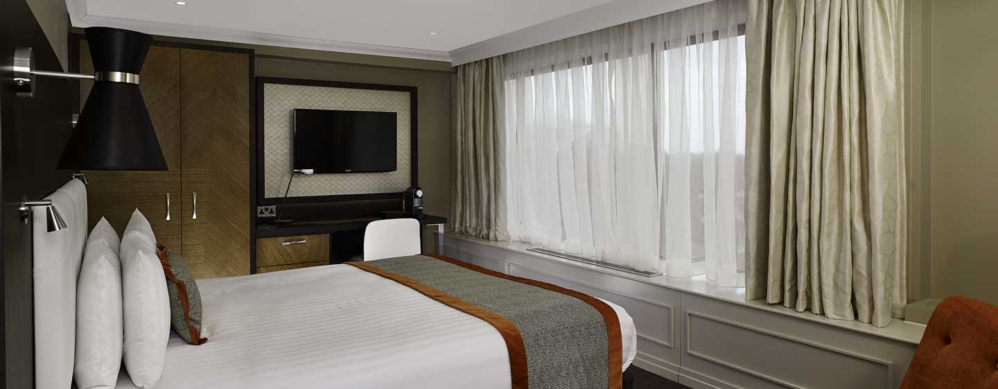 DoubleTree by Hilton Hotel London - Hyde Park, Regno Unito - Camera Deluxe con letto king size
