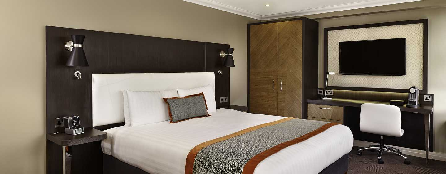 DoubleTree by Hilton Hotel London - Hyde Park, Regno Unito - Camera con letto king size