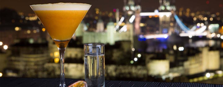 DoubleTree by Hilton Hotel London - Tower of London, Regno Unito - Terrazza dello Sky Lounge