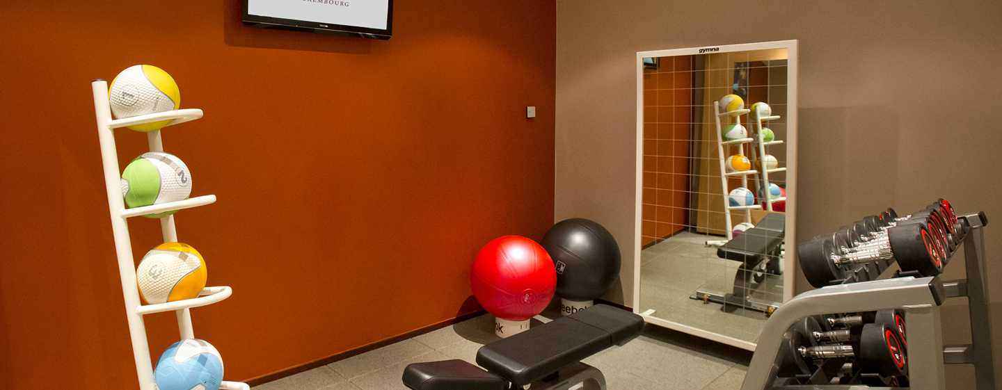 DoubleTree by Hilton Hotel Luxembourg, Lussemburgo - Fitness center