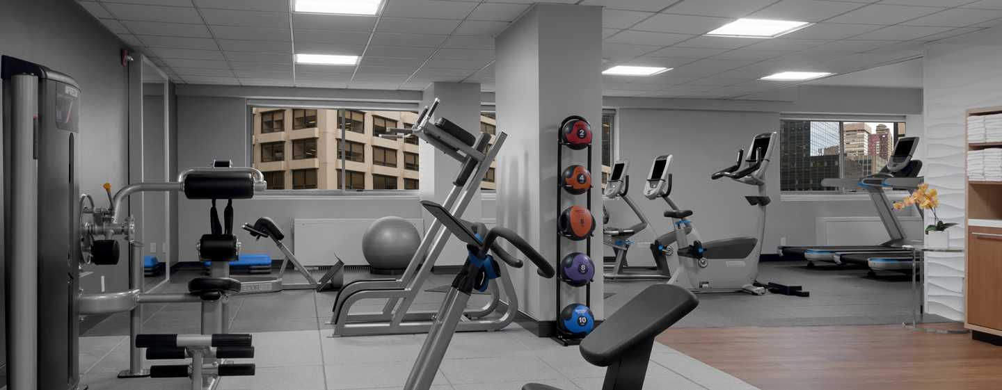 DoubleTree by Hilton Hotel Metropolitan - New York City, New York - Fitness center
