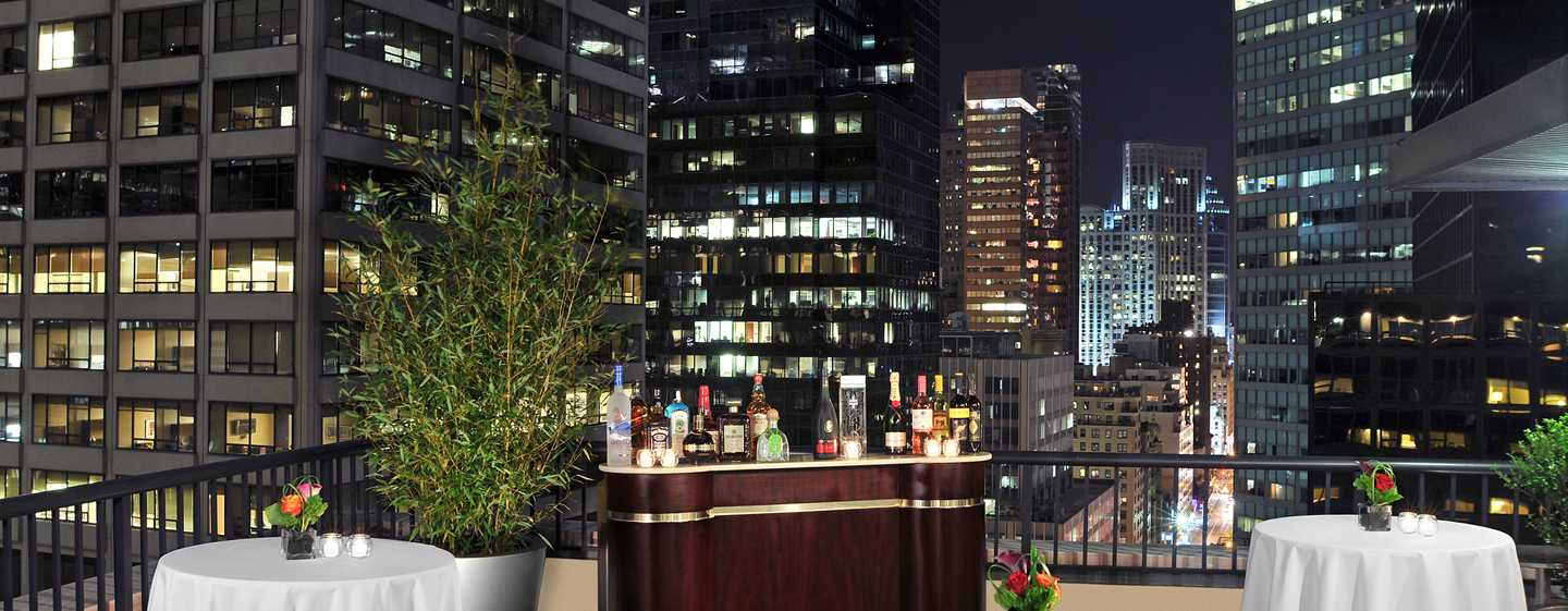 DoubleTree by Hilton Hotel Metropolitan - New York City, New York - Terrazza