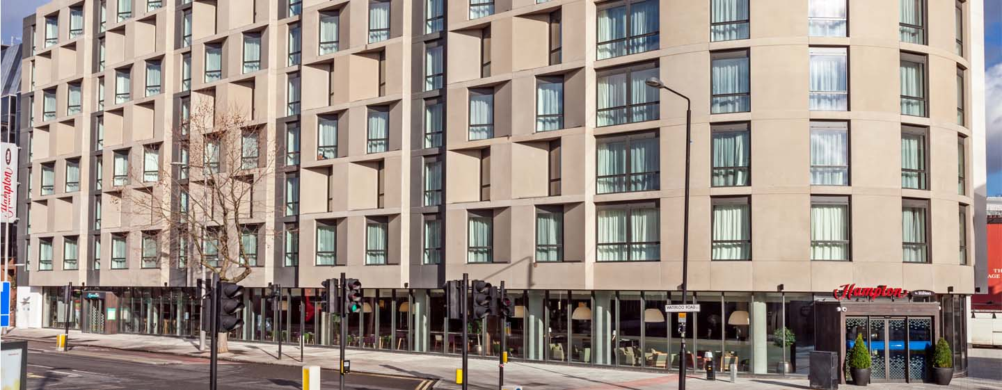 Hotel Hampton by Hilton London Waterloo, Regno Unito - Esterno dell'hotel a Waterloo