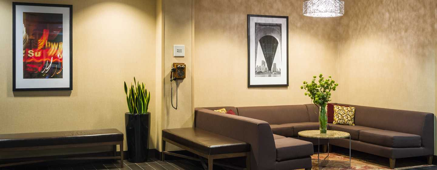 Hotel Hampton Inn Manhattan/Times Square South, New York, Stati Uniti d'America - Salotto della lobby