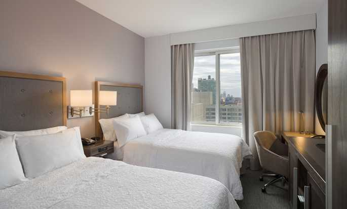 Hotel Hampton Inn Manhattan/Times Square South, New York, Stati Uniti d'America - Due letti matrimoniali