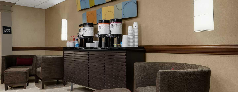 Hotel Hampton Inn Manhattan-Times Square North, New York, Stati Uniti d'America - Tè e caffè gratuiti