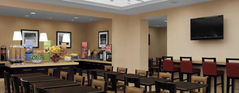 Hotel Hampton Inn Manhattan-Times Square North, New York, Stati Uniti d'America - Area ristorazione per la prima colazione