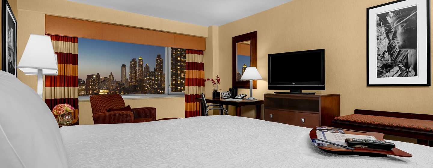 Hotel Hampton Inn Manhattan-Times Square North, New York, Stati Uniti d'America - Camera con letto king size