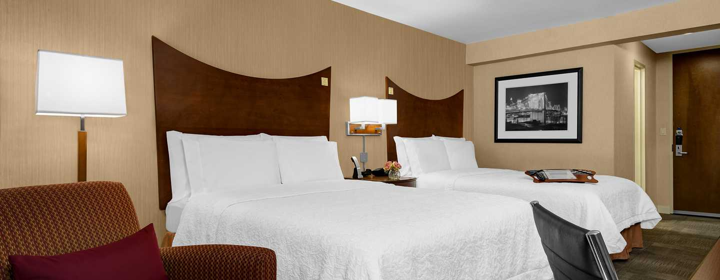 Hotel Hampton Inn Manhattan-Times Square North, New York, Stati Uniti d'America - Camera con letto queen size