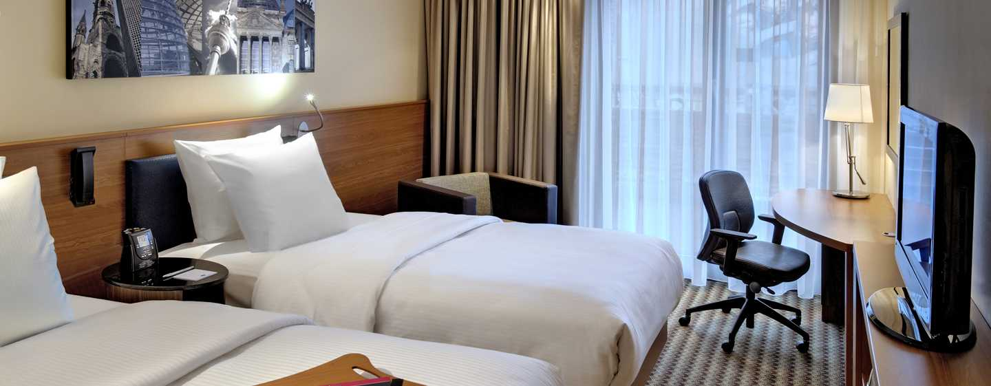 Hotel Hampton by Hilton Berlin City West, Berlino, Germania - Camera con letti separati