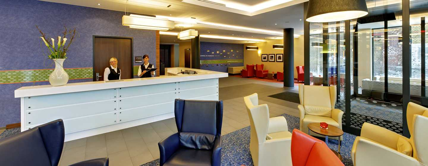 Hotel Hampton by Hilton Berlin City West, Berlino, Germania - Reception e lobby
