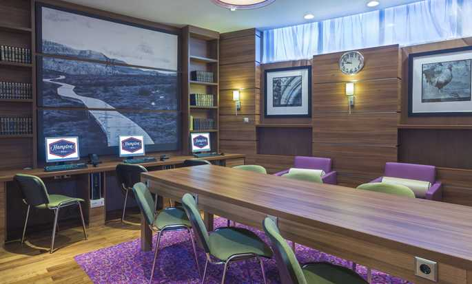Hotel Hampton by Hilton Voronezh, Russia - Business center