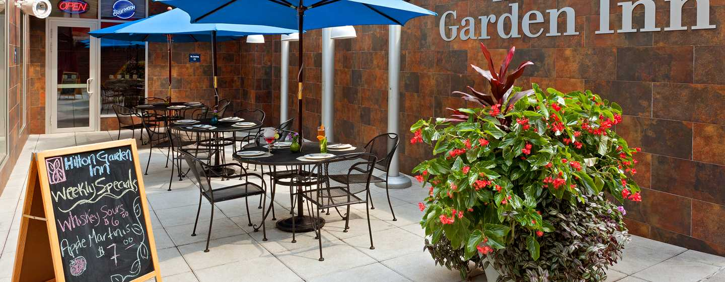 Hotel Hilton Garden Inn New York/West 35th Street, Stati Uniti - Patio all'aperto