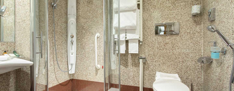 Hilton Garden Inn Rome Claridge, Italia - Bagno attrezzato per disabili
