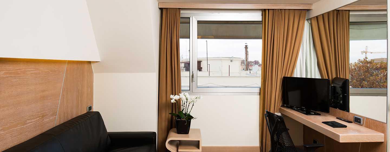 Hilton Garden Inn Rome Claridge, Italia - Dettaglio della Suite Junior