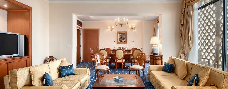 Hotel Hilton Algiers, Algeria - Suite con letto king size
