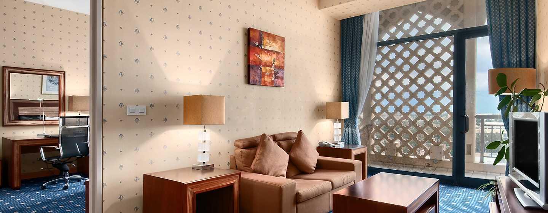 Hotel Hilton Algiers, Algeria - Suite Junior con letto king size