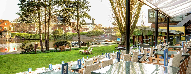 Hotel Hilton Amsterdam, Paesi Bassi - Terrazza giardino