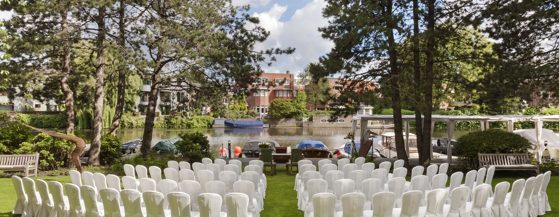Hilton Amsterdam, Paesi Bassi - Allestimento per matrimonio