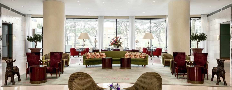 Hilton Amsterdam, Paesi Bassi - La lobby