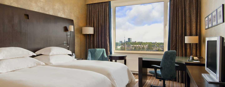 Hilton Amsterdam, Paesi Bassi - Camera Executive Plus con letti separati