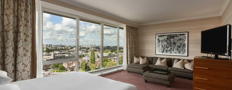 Hilton Amsterdam, Paesi Bassi - Suite Junior con letto king size