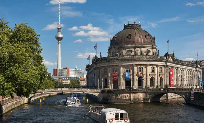 Hilton Berlin, Germania - Isola dei musei