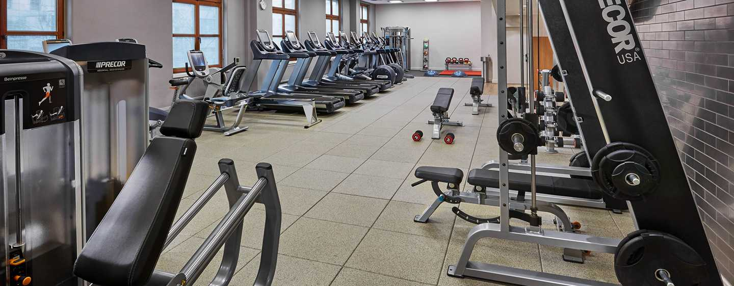 Hilton Berlin, Germania - Health club
