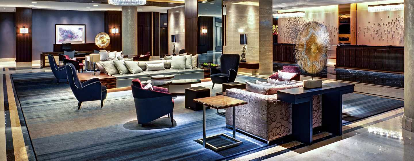 Hilton Berlin, Germania - Lobby dell'hotel