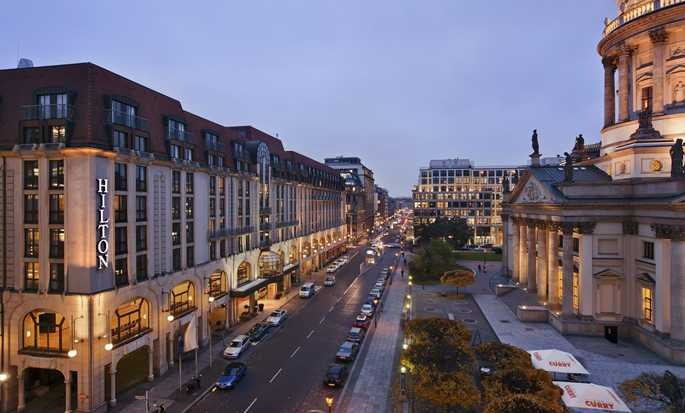 Hilton Berlin, Germania - Esterno dell'hotel