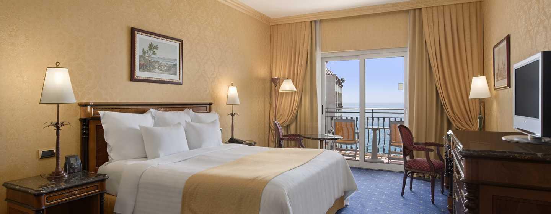 Hotel Hilton Giardini Naxos, Sicilia, Italia - Camera Plus con letto king size