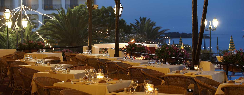 Hotel Hilton Giardini Naxos, Sicilia, Italia - Ristorante Panarea