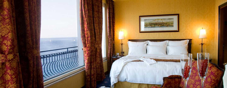 Hotel Hilton Giardini Naxos, Sicilia, Italia - Camera da letto della suite